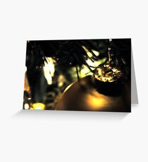 Christmas Ball by Laura Lawrence Glassheart Greeting Card