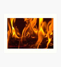 Fire by Laura Lawrence Art Print