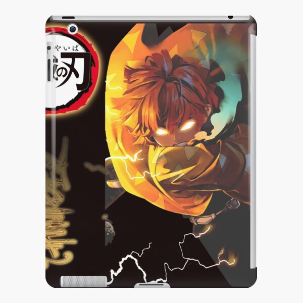 Kimetsu no Yaiba DEMON SLAYER - Zenitsu Pillar Petir iPad Snap Case
