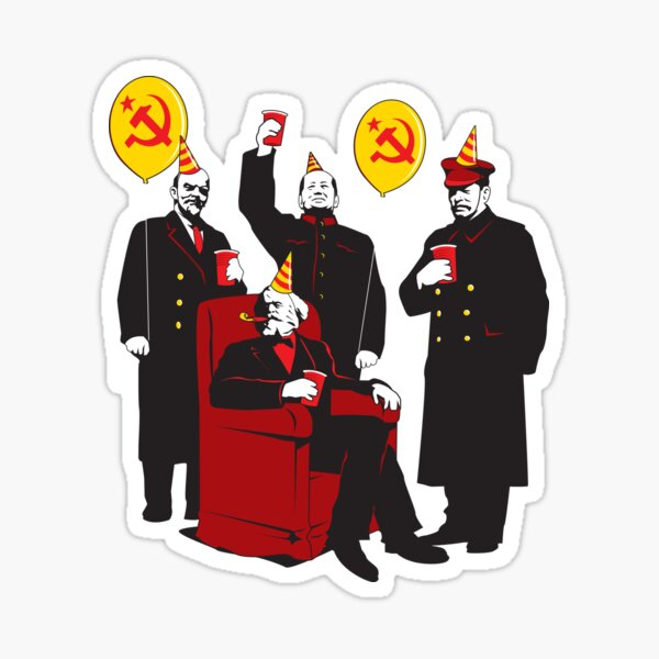 The Communist Party 3: The Communing Sticker