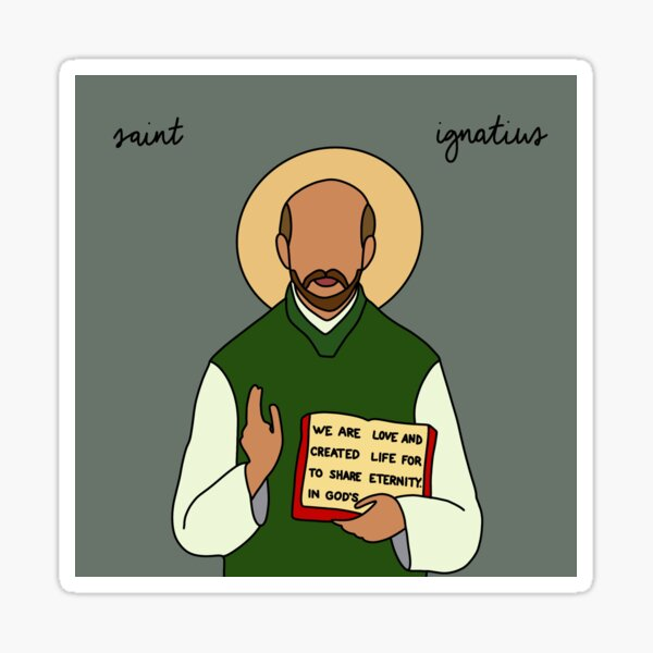 Saint Ignatius Sticker