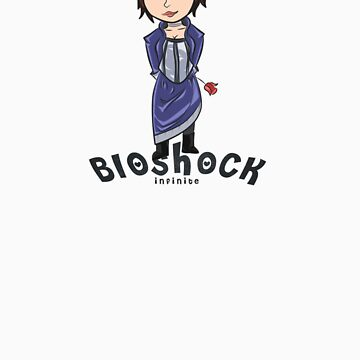 Elizabeth-Bioshock Infinite by Deividas