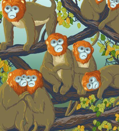 Monkeys Sticker