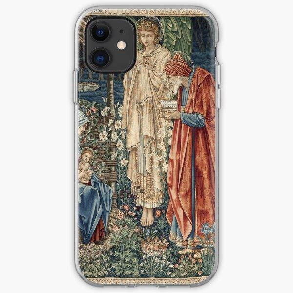 Edward Burne - Jones - The Adoration Of The Magi iPhone Soft Case