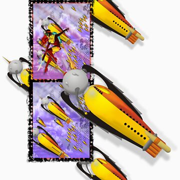 space ship invasion squadron by dennis-gaylor