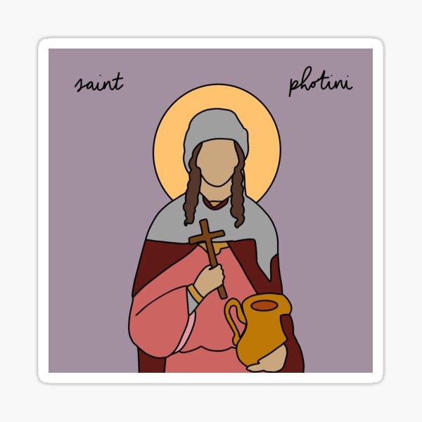 Saint Photini Sticker