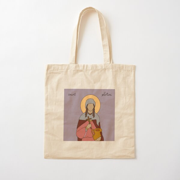 Saint Photini Cotton Tote Bag