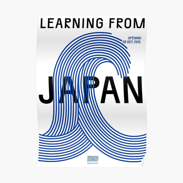 Learning from Japan Exhibition Poster