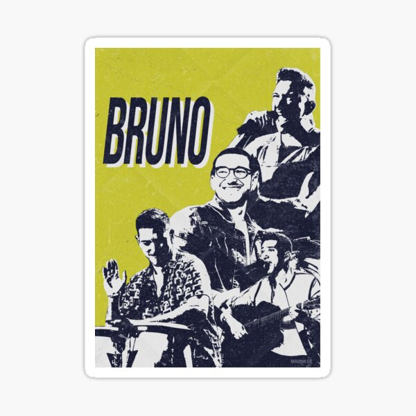 Bruno | Operación Triunfo 2020 Pegatina