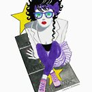 80s Los Angeles RedBubble Challenge Entry by Laura J. Holman