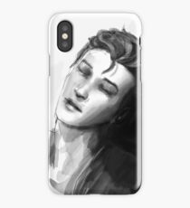 Nathan in the Dark room  iPhone Case