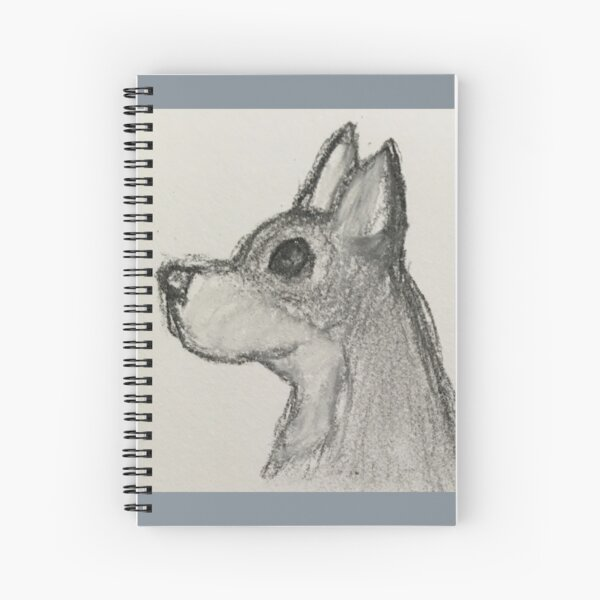 Jack The Chihuahua Spiral Notebook