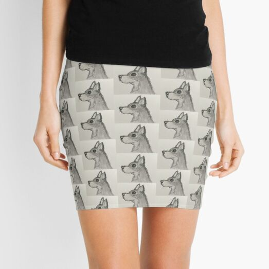 Jack The Chihuahua Mini Skirt