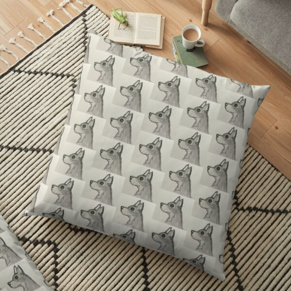Jack The Chihuahua Floor Pillow