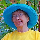 Marion's Blue Hat by Fred Jinkins