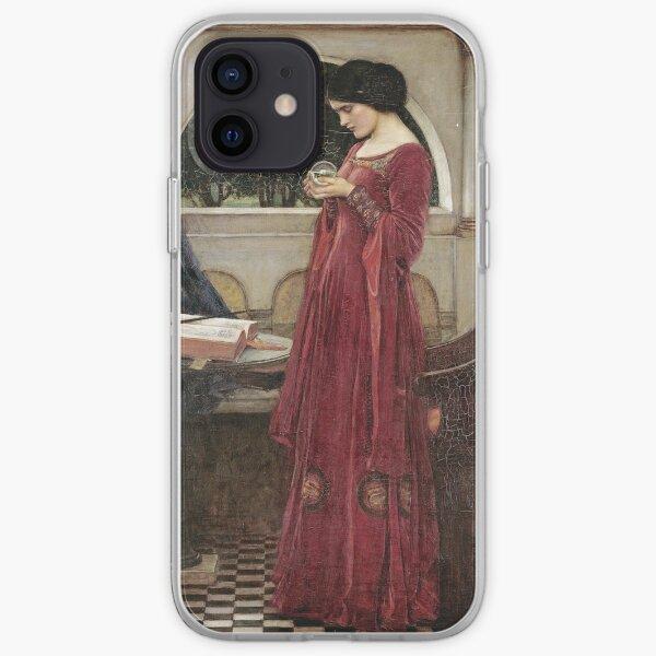 John William Waterhouse - The Crystal Ball iPhone Soft Case