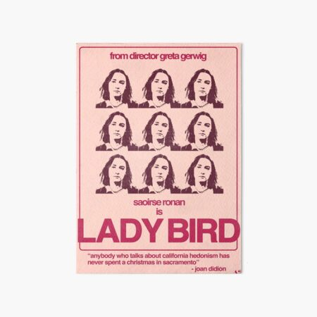 Lady Bird Poster Art Board Print