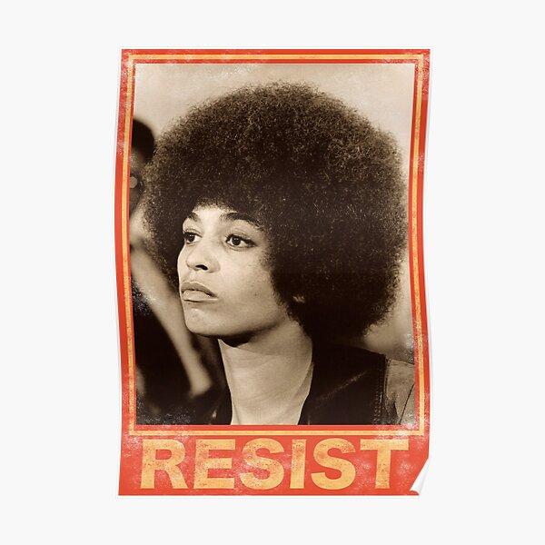 Angela Davis - Résister Poster