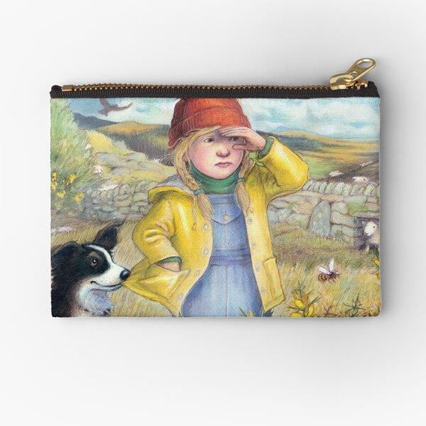 Little Bo Peep - A welsh take on the children's rhyme Zipper Pouch