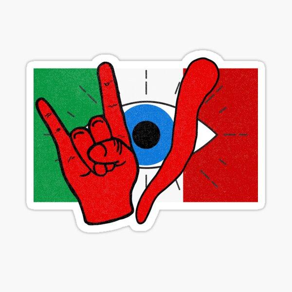 Italian Evil Eye Protection il Malocchio Maloik Malocchio Italy Sticker