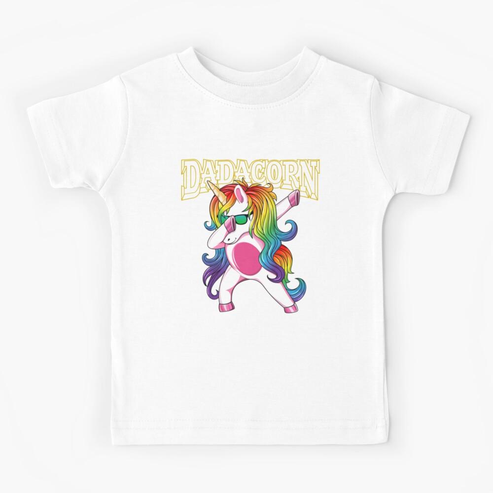Dadacorn In Dabbing Dab Pose Unicorn Dad T Shirt 10204913