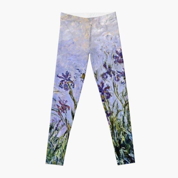 Claude Monet - Iris Mauves Leggings