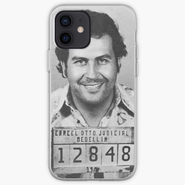 Pablo Escobar Mugshot iPhone Soft Case