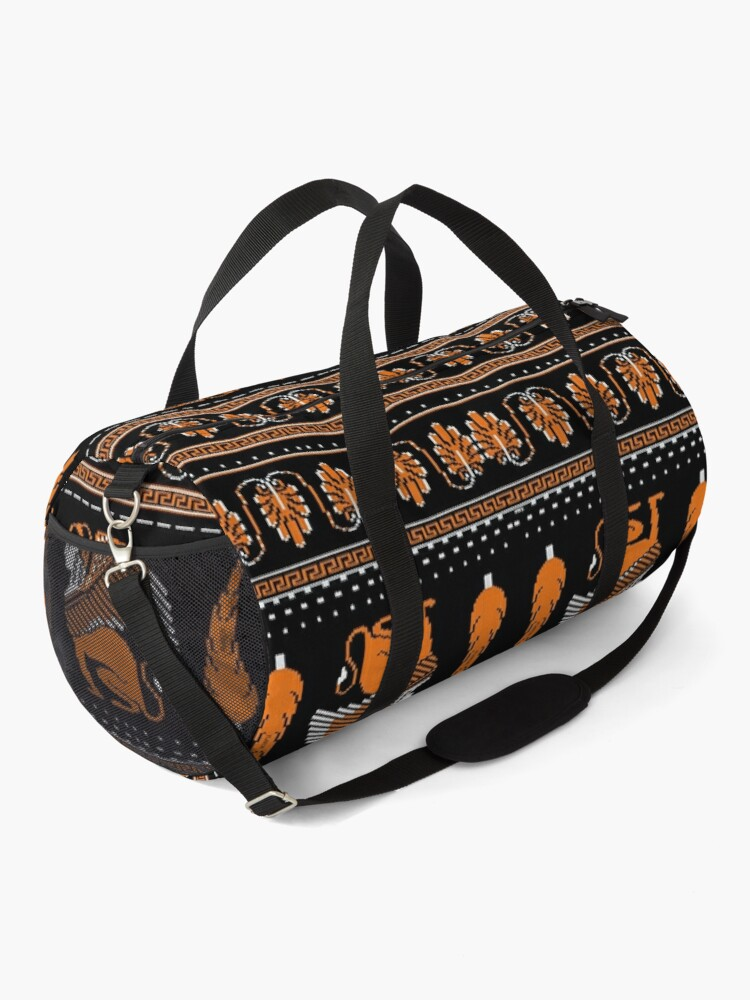 Alternate view of Ancient Knits - Greek Duffle Bag