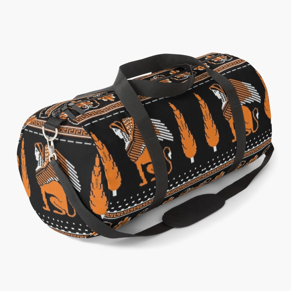 Ancient Knits - Greek Duffle Bag