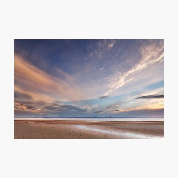 Evening on Burnham Beach Photographic Print