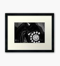 Telephone Framed Print