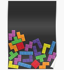 Tetris Error Poster