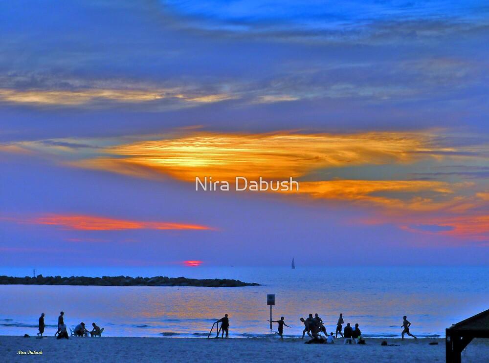 Colours of SunSet by Nira Dabush