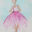 Pink Ballerina by Krissy  Christie
