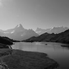"""Bachalpsee-Switzerland """"Top of the World"""" by Rosalee Lustig"""