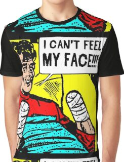 Can't Feel My Face Graphic T-Shirt