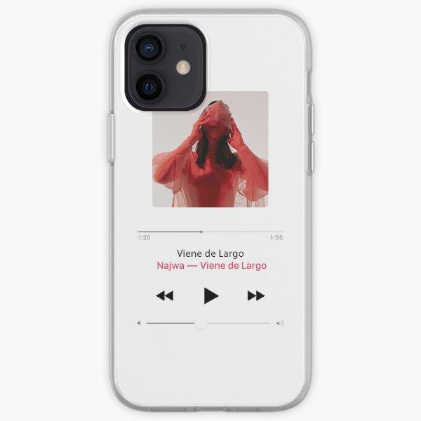 najwa nimri viene de largo Funda blanda para iPhone