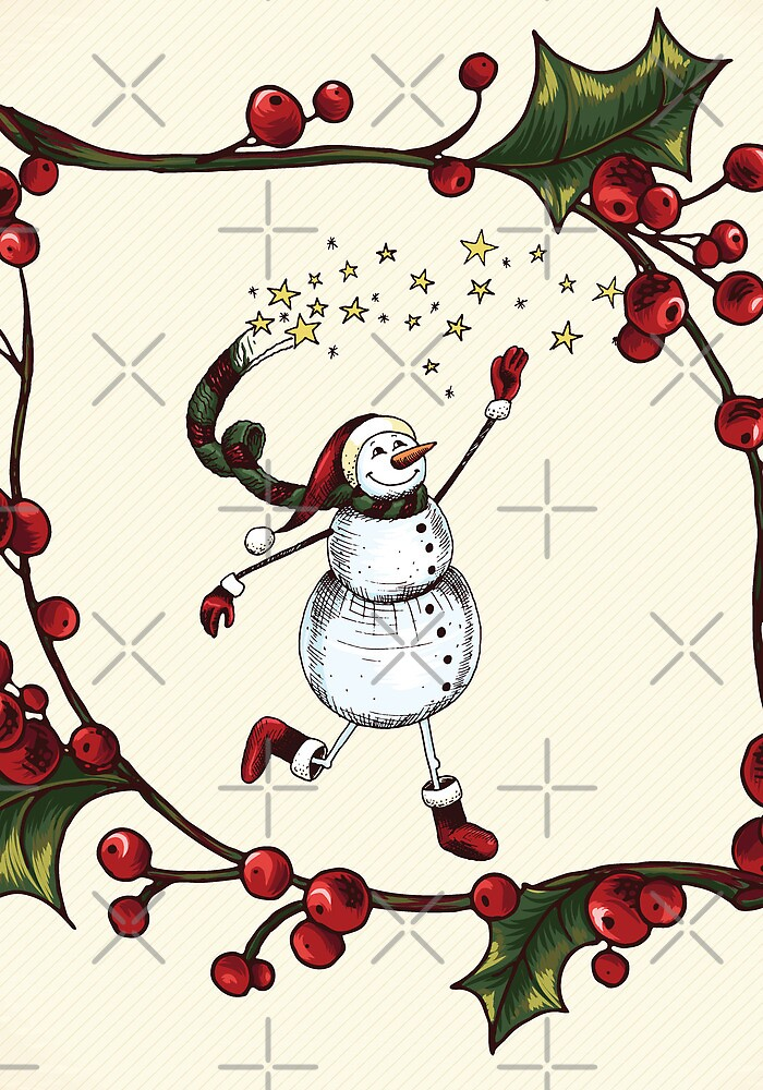 Snowman by favoritedarknes