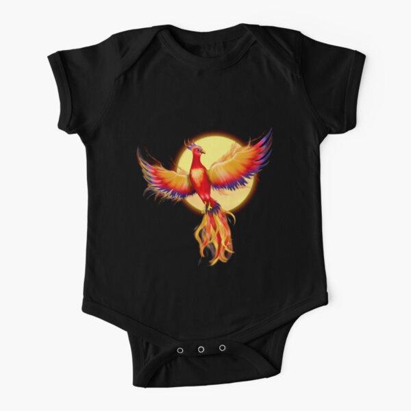 Phoenix Rising Short Sleeve Baby One-Piece