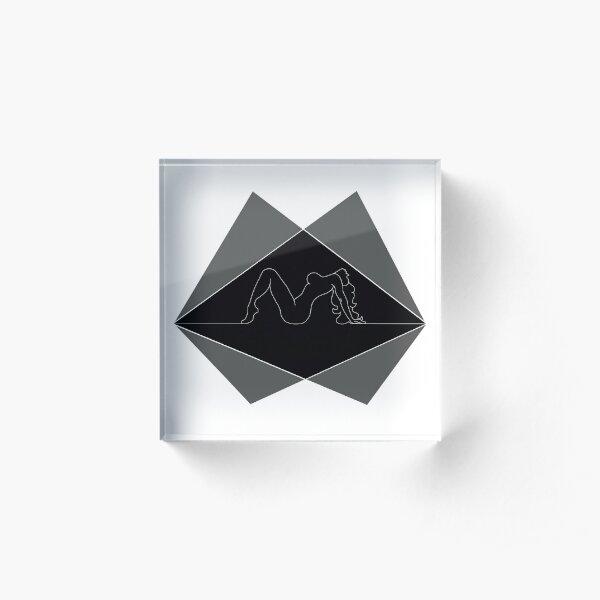Arctic Monkeys Do I wanna know? Silhouette Acrylic Block
