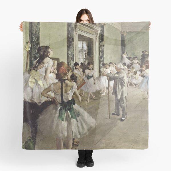 Edgar Degas - The Ballet Class (1871 - 1874) Scarf
