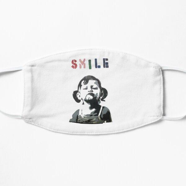 BANKSY Smile Masque sans plis