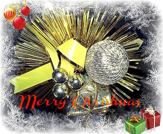 Christmas Greeting Card by EdsMum