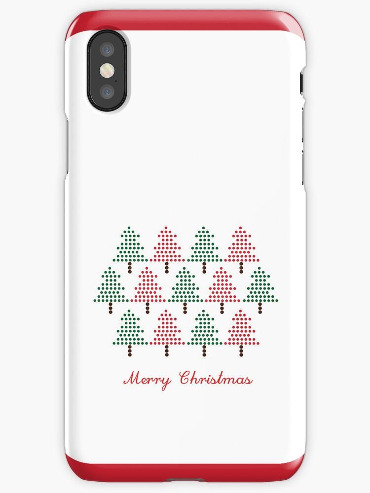 bubble Christmas trees by suesla