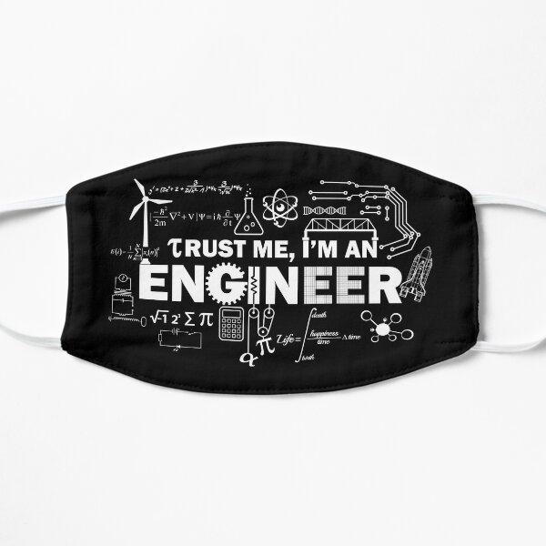 Trust Me I'm An Engineer Flat Mask