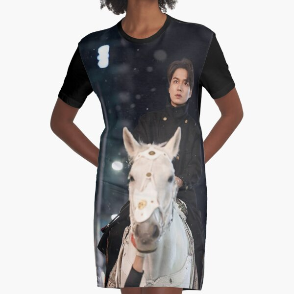 The King Graphic T-Shirt Dress