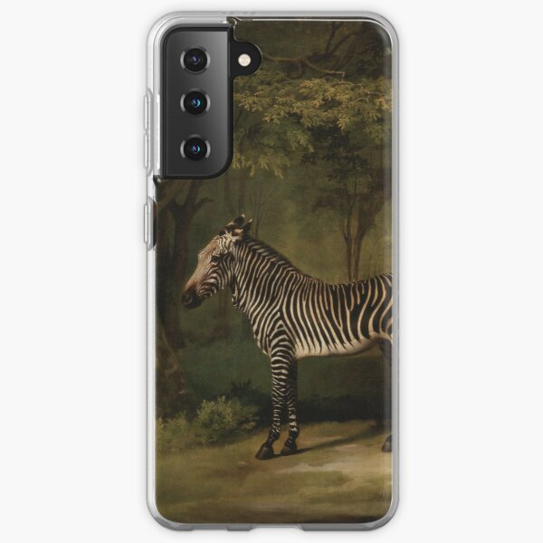 George Stubbs - Zebra 1763 Samsung Galaxy Soft Case