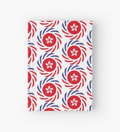 Hong Kong American Multinational Patriot Flag Series Hardcover Journal