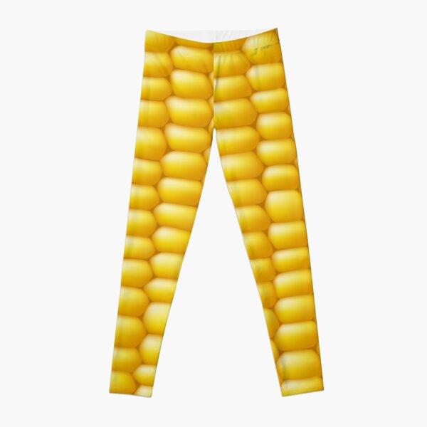Corn Cob Background Leggings