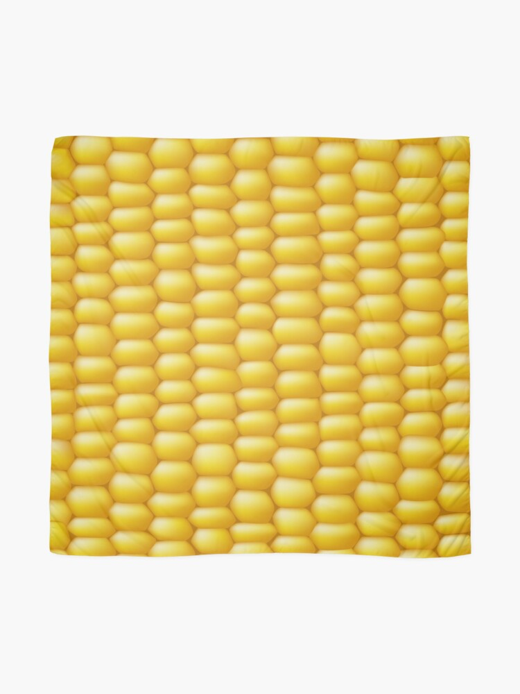 Alternate view of Corn Cob Background Scarf